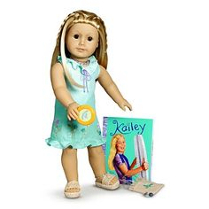 American Girl Dolls : Image : Description Kailey Hopkins, 2003 Girl of the Year American Girl Outfits, Retired American Girl Dolls, All American Girl Dolls, American Girl Crafts, America Girl, Thing 1, Bitty Baby, Ag Dolls, Doll Crafts