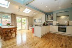3 bedroom semi-detached house for sale in Sandileigh Avenue, Hale - Rightmove. Open Plan Kitchen Dining Living, Open Plan Kitchen Diner, Kitchen Diner Extension, Open Kitchen, Orangery Extension Kitchen, House Extension Plans, House Extension Design, 1930s House Extension, Extension Ideas