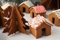 Gingerbread 3D - las mini Navidad árboles de Navidad y casas en la taza (28) (600x400, 140Kb)