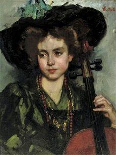 Thérèse Schwartze (The Cellist)
