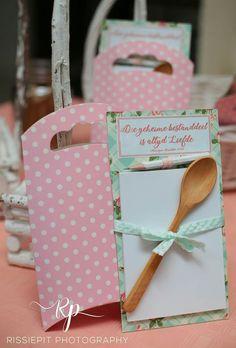Kitchen Tea / Bridal shower : Diy cheap favour
