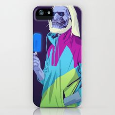 GAME OF THRONES 80/90s ERA CHARACTERS - White Walker iPhone & iPod Case