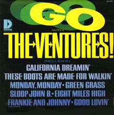 The Ventures California Dreaming Old Records, Vinyl Records, Jan And Dean, Easy Listening Music, The Ventures, Julie London, Frankie And Johnny, Lp Cover, Musica