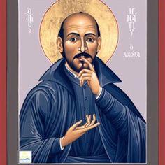 St. Ignatius Loyola, 31 July 1556, Roman Catholic saint/icon