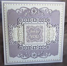 PartiCraft (Participate In Craft): Just For You gemini phoenix, herald and madison square, dainty rectangle and oval frames. 71/2x73/4