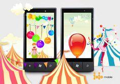 Blowing #balloons. App for #WindowsPhone