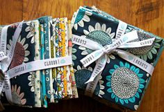 Sarah Watson's new organic Arcadia collection for Cloud9 Fabrics by maureencracknell, via Flickr