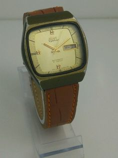 HMT Vybhav Mechanical 21 Jewels Automatic Men s wristwatch Vintage Collectible | eBay