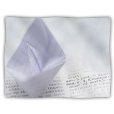 Kess InHouse Ingrid Beddoes At Sea Paper Boat Pet Blanket 40 by 30Inch * Read more  at the image link.