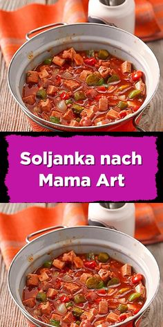 Soljanka nach Mama Art Gemüse Rezepte Soljanka the Mama style - the amount is designed for 4 people Pasta Recipes, Soup Recipes, Vegetarian Recipes, Cooking Recipes, After Workout Food, Barbecue Sauce Recipes, Grilling Recipes, Hamburger Recipes, Copycat Recipes