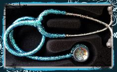 Littmann Classic II SE personalized glitter stethoscope