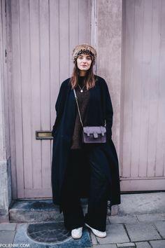 POLIENNE | wearing a MANGO coat, H&M denim, DRYKORN trousers & COMPTOIR DES COTONNIERS bag in Antwerp, Belgium