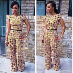 The All Day Ankara Pants; Date Night, Weddings And Interviews