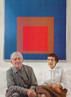 Josef and Anni albers, 1968