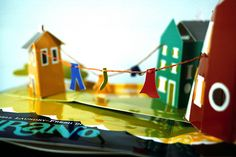 italy! pop up book