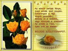 Boldog szülinapot Name Day, Happy Birthday, Names, Colours, Fruit, Blog, Happy Brithday, Saint Name Day, Urari La Multi Ani
