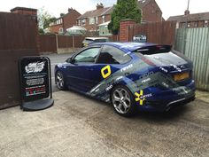 2007 Ford Focus ST in today for a REVO wrap designed, made and installed by us to customers requirements.