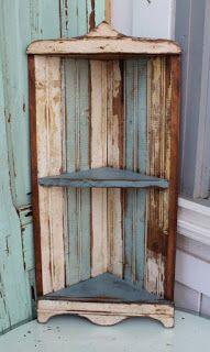Corner Shelf Made From Pallets