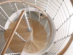 Arke mobili ~ Arke phoenix in white spiral staircase kit spiral staircase