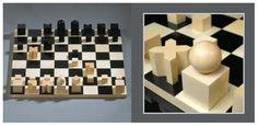 Bauhaus chess-board, by Joseph Hartwig — 1927