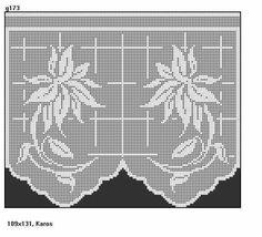 gardinen vorhang h keln fileth keln kuh anleitung hekle filet crochet pinterest. Black Bedroom Furniture Sets. Home Design Ideas