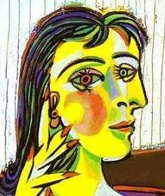 """""""I bambini sono tutti artisti. Il problema è come rimanere artisti quando si cresce"""". Pablo Picasso. Imbattersi in uno dei ritratti cubisti di Pablo Picass"""