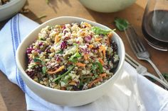 Cauliflower Couscous with Green Lentils and Turmeric-Tahini Sauce. Vegan and Delicious!