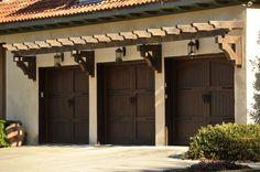 Signature Carriage - wood garage doors