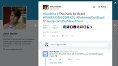 CEO da Niantic John Hanke tem conta do Twitter invadida