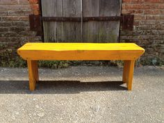 sale+cottage+bench+by+handmadebetty+on+Etsy,+$75.00