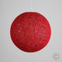 Modern rattan / wicker ball ceiling pendant light shade in a red finish. This beautiful shade features a woven style finish that allows light to be dispersed creating a stunning light effect on surrounding surfaces. Hanging Light Fixtures, Pendant Light Fixtures, Ceiling Pendant, Hanging Lights, Light Pendant, Industrial Pendant Lights, Mini Pendant Lights, Kitchen Light Shades, Ceiling Decor
