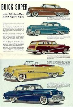 1951 Buick Brochure.