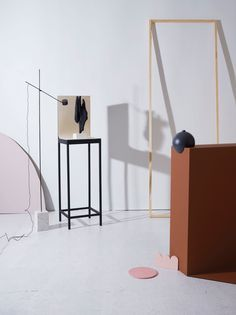 Structure exhibition for Milan Design Week - Curated by Kråkvik & D'Orazio and Hanna Nova Beatrice