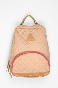 Kimchi Blue Contrast Quilted Backpack