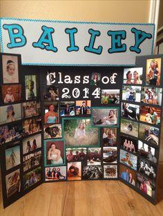 Memory board high school graduation