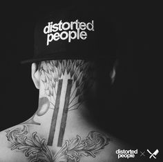 Distorted People Logo Snapback