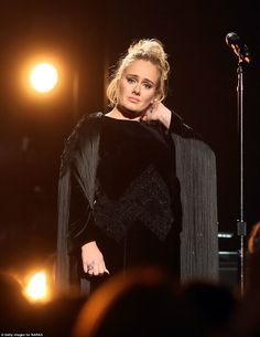 Adele Predicted She Would Restart Grammys Performance a Year Ago: Photo Adele predicted nearly a year ago that she would stop and start her performance over if anything went wrong, which happened at the 2017 Grammy Awards. Adele 2017, Adele Grammys, Adele Music, Adele Singer, Adele Photos, Adele Adkins, R&b Albums, Tamela Mann, Queens