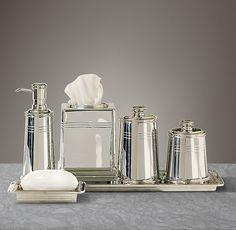 Bathroom Accessories Restoration Hardware luxury bath accessory sets - vizcaya accessorieskassatex