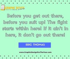 Enough #Graphics for the Entire #Year! 520! No more #Social #Media #Anxiety ! We can help you be a social media guru! Fast! Before you get out there, before you suit up! The fight starts within here! If it ain't in here, it don't go out there! -Eric Thomas - www.GraphicDesignfortheYear.com