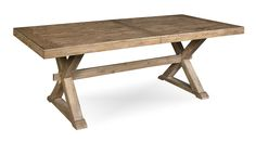 Universal Furniture Great Rooms Trestle Dining Table