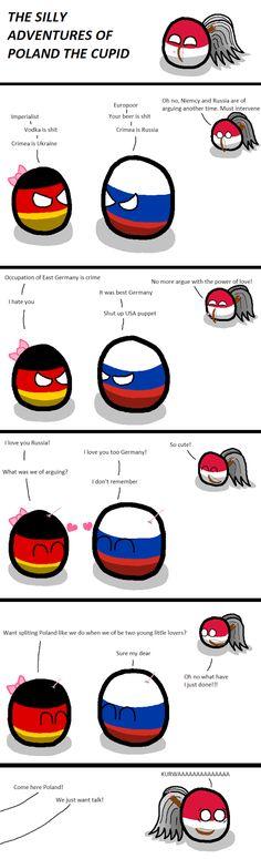 Poland the cupid