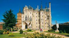 Palais épiscopal d'Astorga. Province de León ©Turespaña