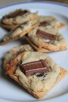Life's Too Short to Skip Dessert: Smores Cookies