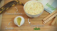 El platano maduro es el protagonista en la receta de las #Mandocas y aparte de ser divino es rico en fibra. #PataCook