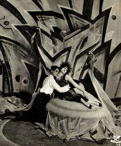 Genuine, die Tragödie eines seltsamen Hauses. 1920, dir. Robert Wiene ; Set design by Cesar Klein