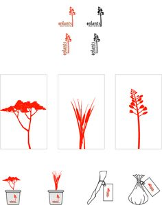 """A graphic profile I did while studying Graphic Design in Cape Town, South Africa.  The concept is that the company helps you to grow a medical garden so that you have all the """"regular"""" medical drugs in your backyard. Leaves to stop bleeding and so on..  First there is two versions of a logo, then there is the business card and at the bottom there is some ideas for giveaways."""