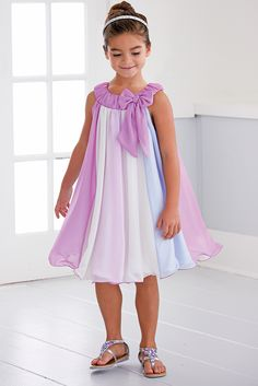 From CWDkids: Chiffon Panel Dress