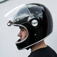 BELL BULLITT HELMET - GLOSS BLACK - SIDE