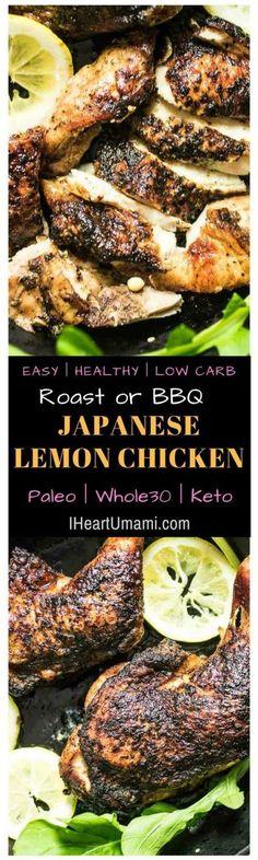 Japanese lemon chicken