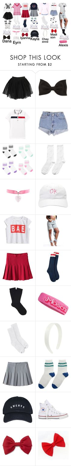"""Independent doing a meet and great in LA and doing a mini concert for their fans"" by independent-official ❤ liked on Polyvore featuring Boohoo, Forever 21, Tommy Hilfiger, Levi's, Krystal, Hansel from Basel, Dsquared2, Falke, Moschino and Hanes"
